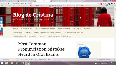 Cristina blog